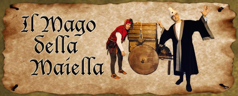 comico medioevale - Il mago della maiella